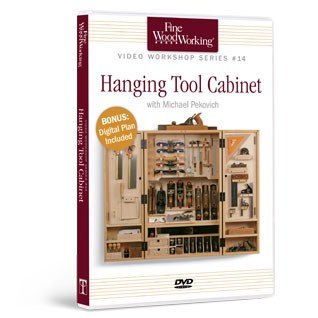 FWW: HANGING TOOL CABINET: The Woodworker's Library - woodworking ...