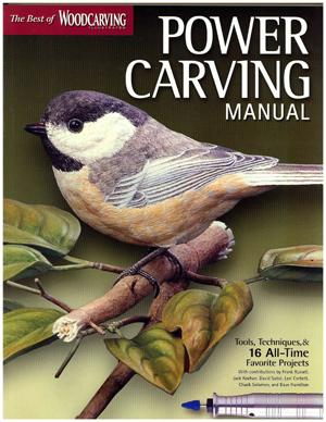 The Best of Woodcarving Illustrated: Power Carving Manual. book cover