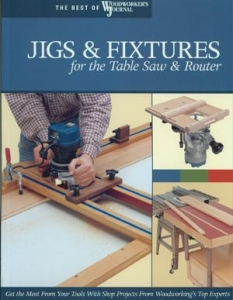 Jigs Fixtures For The Table Saw And Router Best Of Woodworker S Journal The Woodworker S Library Woodworking Books Projects Plans And Videos