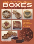 Custom Wooden Boxes for the Scroll Saw: Step-by-Step Instructions and Detailed P