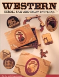 Western Scroll Saw and Inlay Patterns (Paperback)