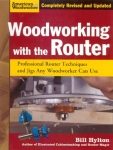 WOODWORKING WITH THE ROUTER- PB