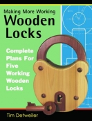 Making More Working Wooden Locks - digital (PDF) file cover image