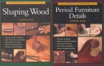 PERIOD FURNITURE DETAILS & SHAPING WOOD SET