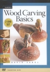 TAUNTON'S WOOD CARVING BASICS - DVD