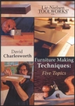 Furniture Making Techniques: Five Topics - DVD