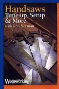 Handsaws: Tune-up, Setup & More - DVD cover