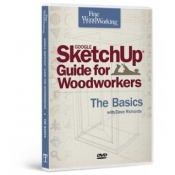 Sketch Up for Woodworkers Cover