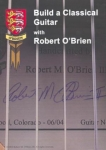 BUILD A CLASSICAL GUITAR WITH ROBERT O'BRIEN - DVD