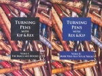 TURNING PENS WITH KIP & REX SET OF 2 DVDS