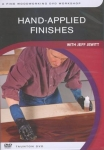 HAND APPLIED FINISHES - DVD