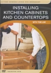 INSTALLING KITCHEN CABINETS AND COUNTERTOPS - DVD