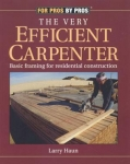 THE VERY EFFICIENT CARPENTER BOOK &(3) DVD'S SET