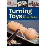 TURNING TOYS WITH RICHARD RAFFAN DVD