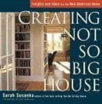 CREATING THE NOT SO BIG HOUSE  PB