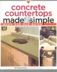 CONCRETE COUNTERTOPS MADE SIMPLE (book/dvd)