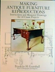 MAKING ANTIQUE FURNITURE REPRODUCTIONS: INSTRUCTIONS AND MEASURED DRAWINGS FOR 4
