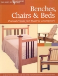 BENCHES, CHAIRS, & BEDS, Best of Woodworkers Journal