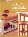 TABLES YOU CAN MAKE, Best of Woodworker's Journal #